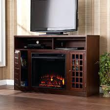 full image for electric fireplace tv stand combo uk davidson indoor corner fan black