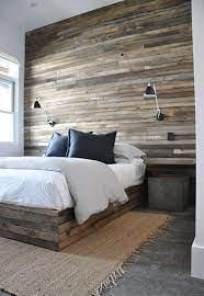 reclaimed wood wall i really really