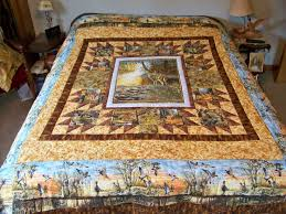 90 best Quilts with Panels images on Pinterest | Audrey hepburn ... & quilts with deer Adamdwight.com