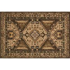 loloi victoria 3 6 x 5 6 hand hooked wool rug in walnut and beige rugs carpets best canada
