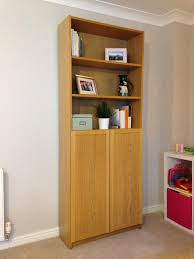 Ikea Billy Bookcase Ikea Billy Bookcase With Half Doors Oak In Corstorphine