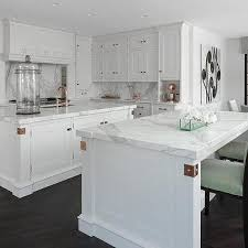 copper knobs and pulls. white kitchen cabinets with copper hardware knobs and pulls p