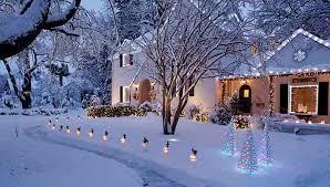 outdoor christmas lighting. outdoor christmas lighting