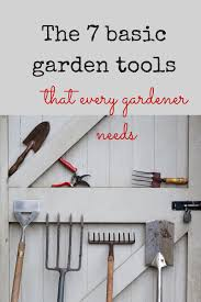 essential gardening tools. Brilliant Gardening 7 Essential Garden Tools To Make Your Gardening Life Really Easy  The  MiddleSized Garden  Gardening Blog For Essential Tools