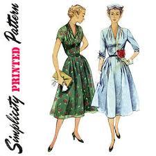 1950s Dress Patterns Classy Shop 48s Dress Patterns On Wanelo