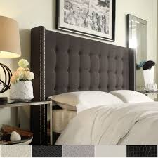 Marion Nailhead Wingback Button Tufted Headboard by iNSPIRE Q Bold - Free  Shipping Today - Overstock.com - 16672233