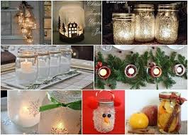 Mason Jar Decorations For Christmas Cute Mason Jar Christmas Decorations 29