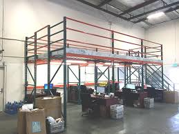 mezzanine office space. how industrial mezzanines can transform your warehouse with office mezzanine space