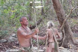 Charlie Frattini and Dani of Naked and Afraid NAKED AFRAID TV. Charlie Frattini and Dani of Naked and Afraid