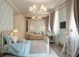 traditional blue bedroom ideas. Bedroom:Blue Cream Traditional Teen Bedroom Decoration With Blue Bed Sheet And Sofa Sets Ideas