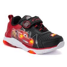 Lightning Mcqueen Light Up Sneakers Disney Pixar Cars Lightning Mcqueen Toddler Boys Light Up