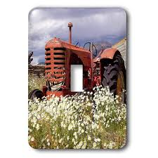 Tractor Light Switch Cover 3drose Lsp_243770_1 Image Of Vintage Tractor Out In The