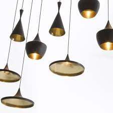 ... Transitional Style Tom Dixon Beat Light Aluminum Material Downlight  Bright Lamps Incandescent Chandelier Bulb Type Design ...