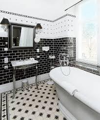Black And White Bathroom Designs Unique Decorating
