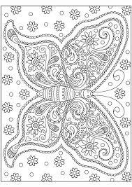 Mooie Kleurplaat Vlinder Los Pastel Met Voorbeeld Kleurplaten