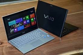 sony vaio laptop. image of two sony vaios vaio laptop n
