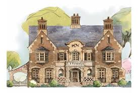 Eplans French Country House Plan   Welcome to the English    Front