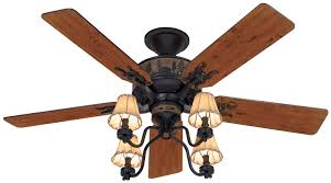 rustic ceiling fans. Rustic Ceiling Fans | Hunter 52\ A