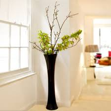 Big vases with flowers