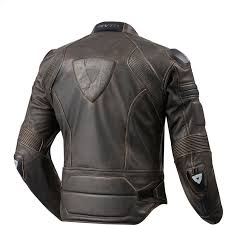 vintage leather motorcycle jacket new