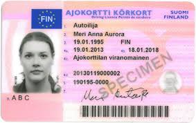 Driver's Commons Licence Front finnish File jpg - Wikimedia