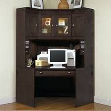 Corner office desk with hutch Small Corner Desk With Hutch Meg Brown Home Furnishings Crossings Home Office Corner Desk With Pinterest Best Office Options Images Corner Desk With Hutch Desk Hutch