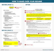 How To Rewrite Your Resume Business Insider