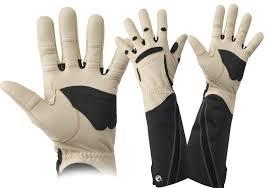 mens bionic gauntlet gloves silky saws