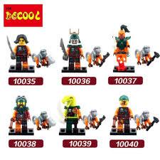 Ninjagoes 6 teile/los Decool Pirates LPS Lloyd Cole Kai Jay geist Ninjagoes  Bausteine set Spielzeug Fit für lego für minifigur|block toys|toys forninja  go - AliExpress