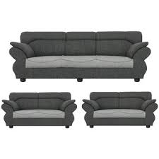 sofa set. Beautiful Sofa Gioteak Kingdom 7 Seater Sofa Set In Light Grey Color With Attractive Design With Sofa Set T