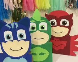 Pj Mask Party Decoration Ideas 100 Pj Masks 100 characters party bags Pj Masks party favors Pj 94