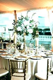 centerpieces for round tables table centerpiece decor tall the at this tented water fall rustic wedding centerpieces for round tables