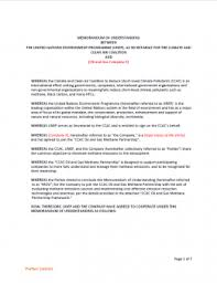 Oil Gas Methane Partnership Memorandum Of Understanding