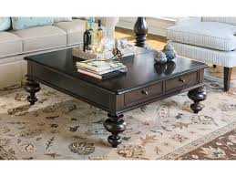 Paula Deen Bedroom Furniture Collection Steel Magnolia Paula Deen Home Tobacco 44 Square Put Your Feet Up Coffee Table