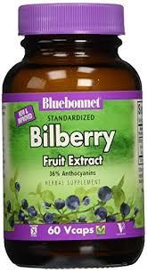 Bluebonnet <b>Standardized Bilberry Fruit Extract</b>, 60 Ct - Walmart.com