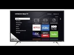 hitachi tv 55 inch. new 55 inch tv!!! (hitachi roku tv) hitachi tv t