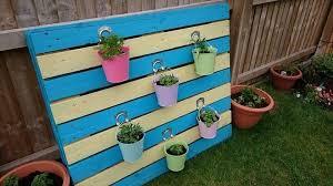 reclaimed pallet herb planter easy
