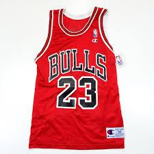 Vintage Nba Chicago Bulls Michael Jordan 23 Champion Usa Basketball Jersey Uniform Shirt Size 36