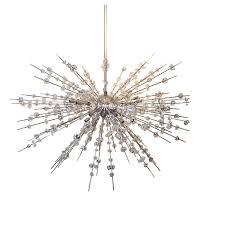 living endearing crystal sputnik chandelier 11 crystal sputnik chandelier