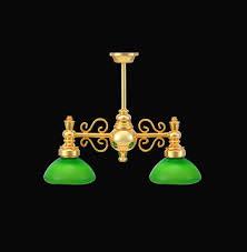 dolls house 1 12 scale 2 down green light chandelier