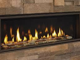 linear gas fireplace. Echelon II Linear Gas Fireplace N