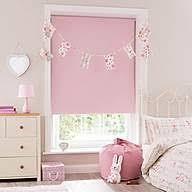 bathroom blinds. soft pink blackout cordless roller blind bathroom blinds