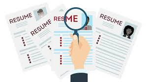 Resume Template Stock Video Footage 4k And Hd Video Clips