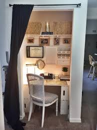 closet office. Office In Closet. Closet Fresh Create A Cozy Desk Space Out Of Your Existing