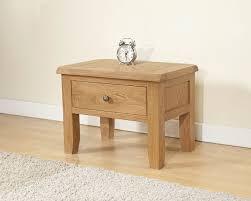 oak side table. Cotswold Rustic Light Oak Side Table