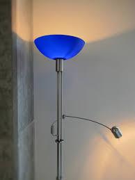 blue floor lamp  ira design