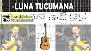Tablatura LUNA TUCUMANA - Atahualpa Yupanqui
