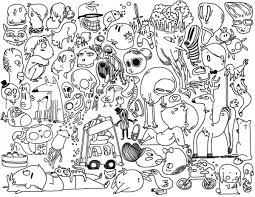 Small Picture Coloring Pages Doodle Art Print Coloring Coloring Pages