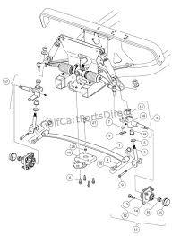 2004 2007 club car precedent gas or electric club car parts Club Car Lighting Diagram front suspension lower club car lighting wiring diagram