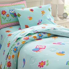 owl bedding with girls twin comforter set birds flowerserflies reble